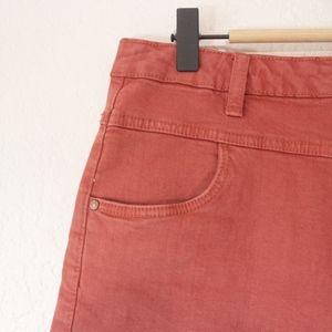 Cotton On Shorts - Cotton On Cider Red Denim Shorts